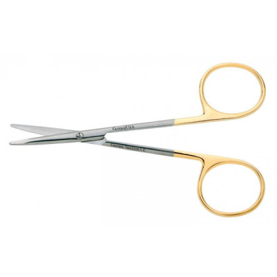 Gum Scissors, Quinby, 12.5cm, Curved