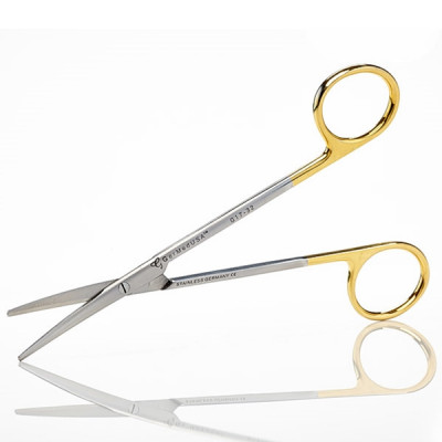 Gum Scissors, Metzenbaum, 14.5cm, Curved, TC Insert Jaws