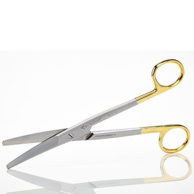 Gum Scissors, Metzenbaum, 18cm, Straight, TC Insert Jaws