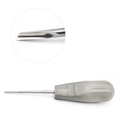 Anglevator Dental 2mm Left Stainless Steel Color Coated