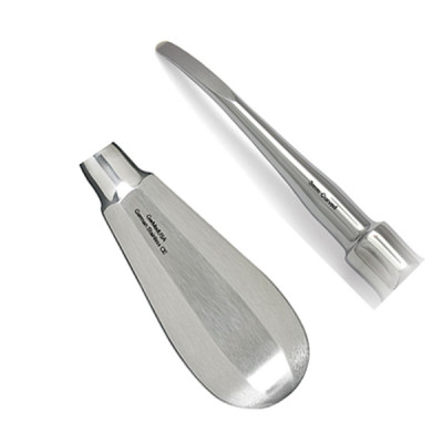 Elevator, Luxating, 3mm, Curved, Small Handle, Extra Delicate
