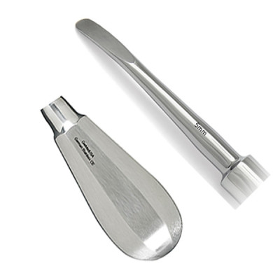 Elevator, Luxating, 5mm, Curved, Small Handle, Extra Delicate